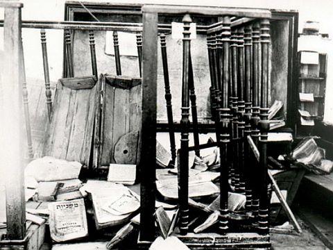 החורבן בבית הכנסת,צילום ארכיון